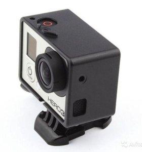 Рамка широкая для GoPro HERO 3, 3+, 4 с BacPac