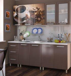 Кухня люкс Шоколад 2.0м