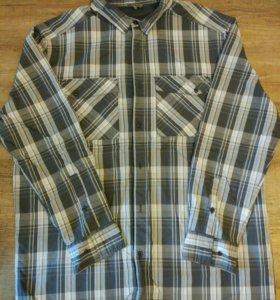 Новая рубашка на флисе