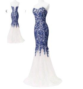 НОВОЕ свадебное вечернее платье 44р. ЦВЕТ ДРУГОЙ