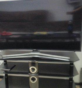 Телевизор Самсунг 4К 49 дюймов + подставка под ТВ
