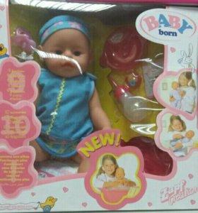Интерактивный пупс/кукла babyborn