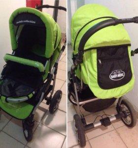 Коляска Baby-merc и рюкзак Titus Zippy
