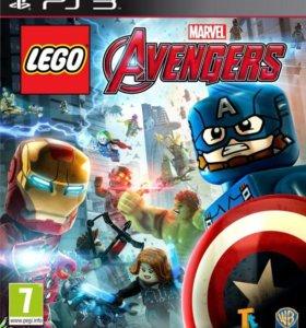 LEGO Marvel Мстители для PS3 (русская версия)