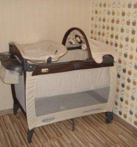 Манеж- кровать Graco Electra Deluxe