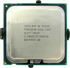 Процессор Intel E5200