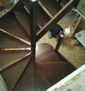 Лестницу двери