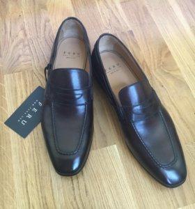 Модные мужские туфли полуботинки Feru Новые 42,5
