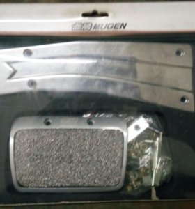 Накладки на педали Mugen АКПП.