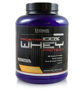 PROTEIN ULTIMATE PROSTAR WHEY 2,3 КГ