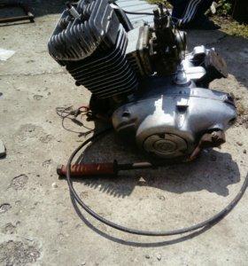 Двигатель и редуктор на Муравей