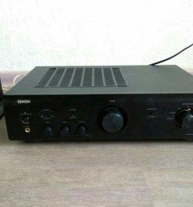 Denon PMA-510AE + колонки Monitor Audio Bronze BX5