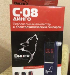 Персональный алкотестер Динго С-08