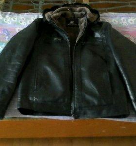 Продам куртку кожа зима