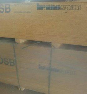 OSB плита влагостойкая 9 мм
