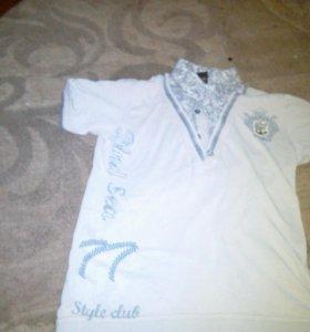 Рубашка с короткими рукавами летняя