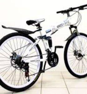 Горный/дорожный складной велосипед.Новый