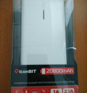 Новый аккумулятор iconBIT FTB20800DX 20800 mAh