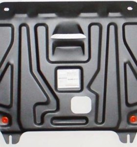 Защита картера двигателя и кпп Kia Rio(Киа Рио)
