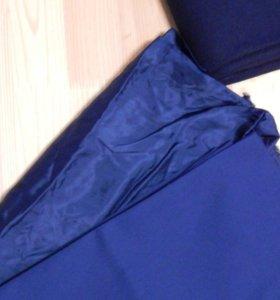 Костюмная ткань+подкладка