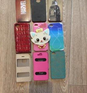 Продам чехлы на iPhone 4/4s
