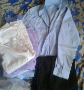 Рубашки брюки в Школу