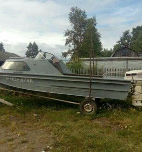 Лодка казанка 2м+мотор 60лс