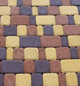 Тротуарная плитка Старый Город 1Ф.4