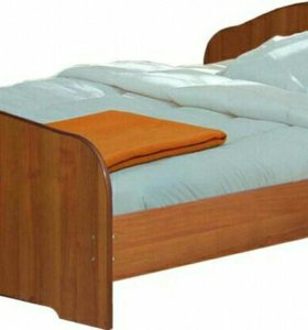 Кровать 2-х спальная с матрасом