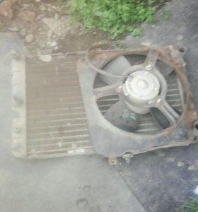 Радиатор с вентилятором ваз 2109 08