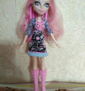 Кукла монстер хай ( вайперин)