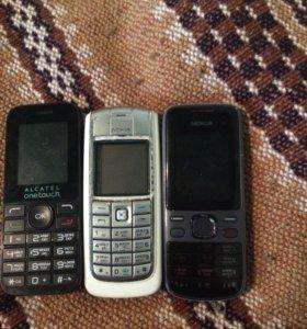 Телефон фанарик
