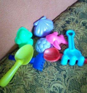 Песочные игрушки
