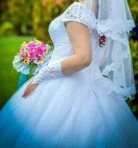 Свадебное платье .