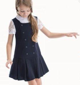 Сарафан Карамелли, 50%, блузка в подарок