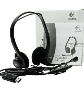USB Гарнитура Logitech Stereo Headset 960