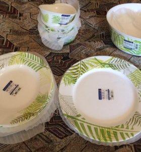 Сервиз, набор НОВОЙ посуды