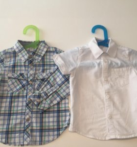 Рубашки на мальчика Kanz р.80-86