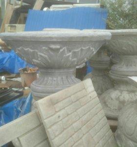 Ваза бетонная