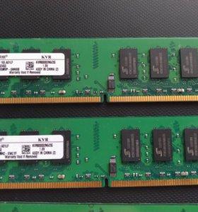Память 2GB Kingston DDR2 800