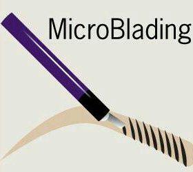 Микроблейдинг бровей