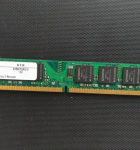 Память 1GB Kingston DDR2 667