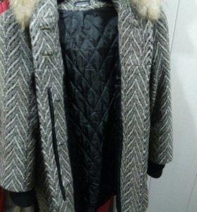 Женское пальто 46-48 р.