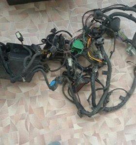 Подкапотная проводка на Форд Фокус 3 двигатель 1,6