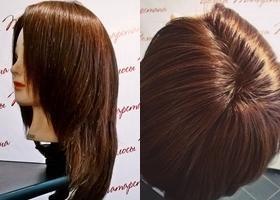 Изделия из натуральных волос, парики, шиньоны