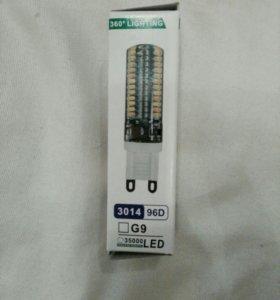 Продам светодиодные лампочки G9