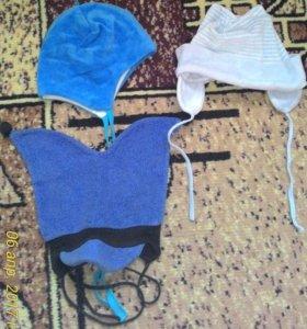 Удобный комплект шапочек