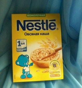 Nestle каша безмолочная