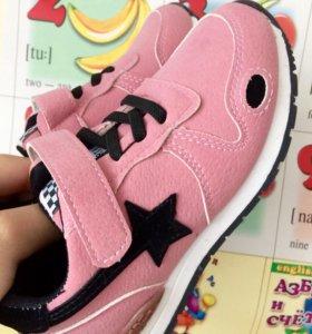 Новые кроссовки 24размера