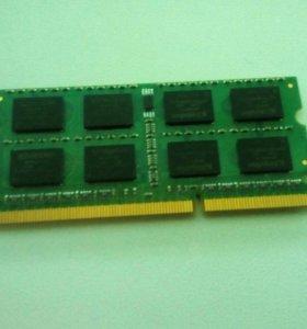 Оперативная память DDR3 KINGSTON 4GB для ноутбука